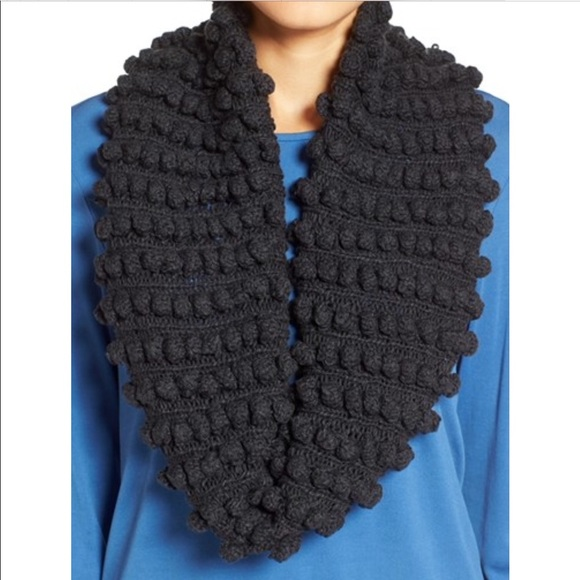 Eileen Fisher Accessories 178 Popcorn Organic Infinity Scarf